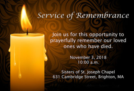 Service of Remembrance 2018