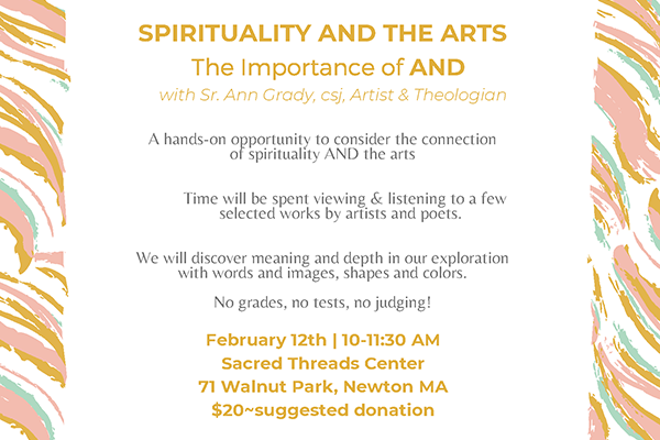 Spirituality and the Arts