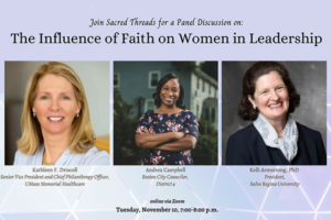 The Influence of Faith on Women in Leadership
