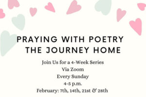 Praying with Poetry: The Journey Home