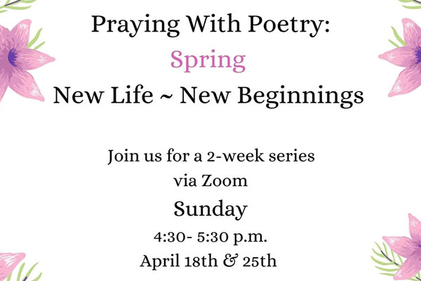 Praying with Poetry